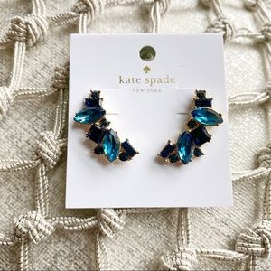 Kate Spade New York NWT Ocean Blue Stud Earrings